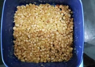 Resep Isi bakpao kacang tanah gurih Bikin Laper