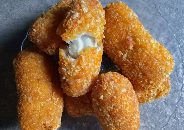 Corndog mozzarella meltuing tuing no tusuk 😆