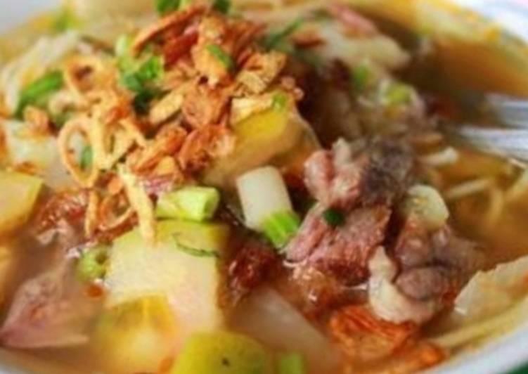 Resep Soto Mie Bogor Yang Maknyus Masakan Bunda