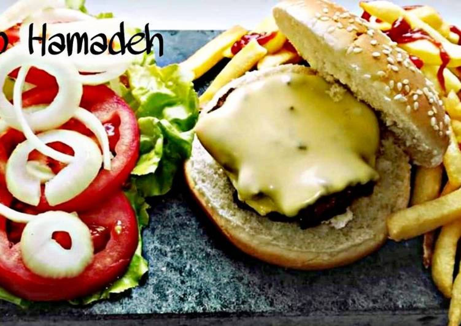 Cheesy Beef Burger