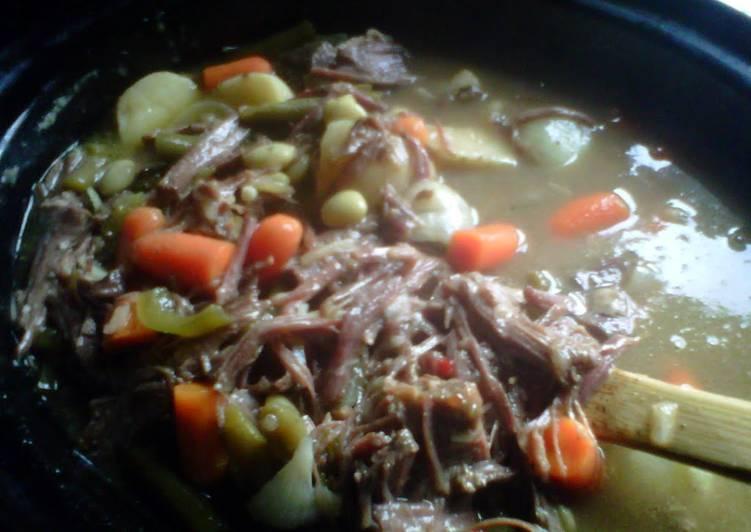 Punch Ya Mama Beef Stew Crock pot style