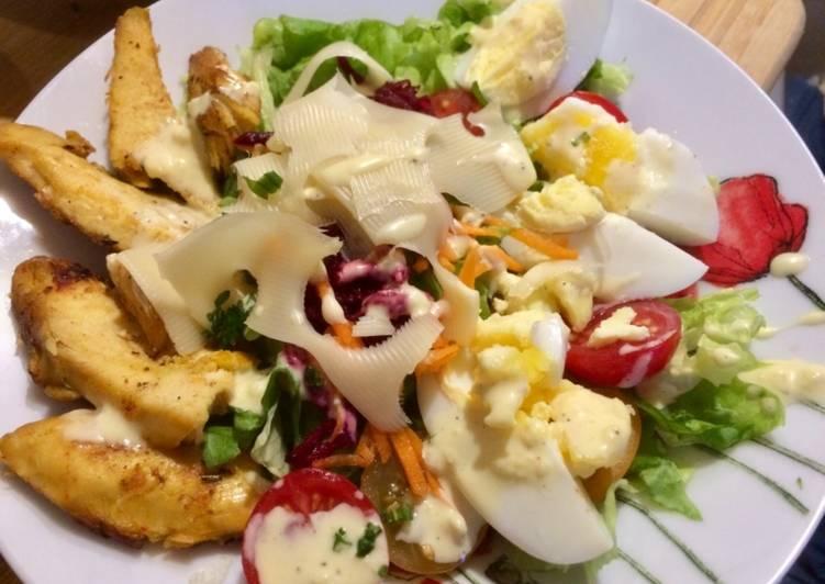 Ma salade césar