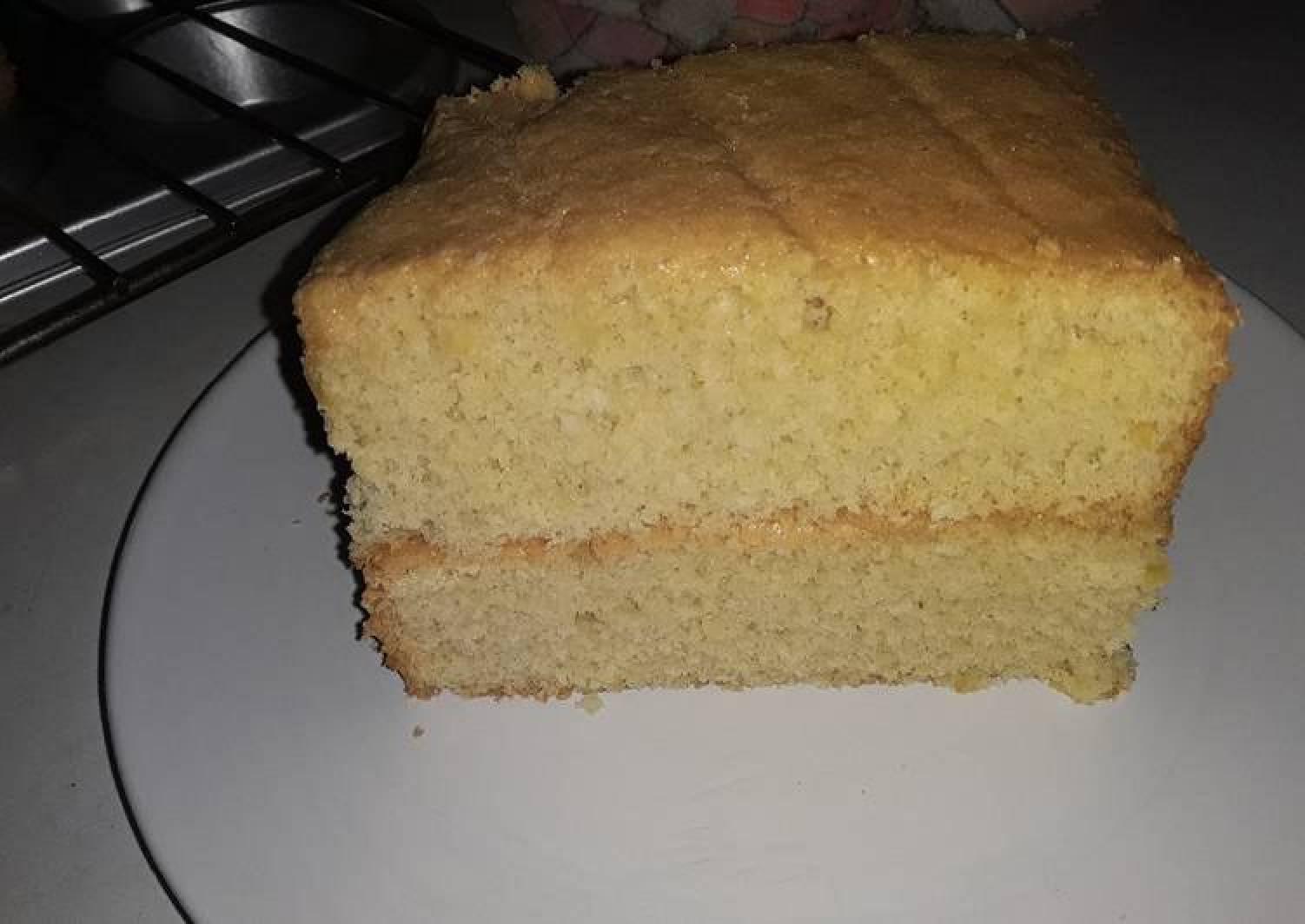 Simple European Sponge Cake