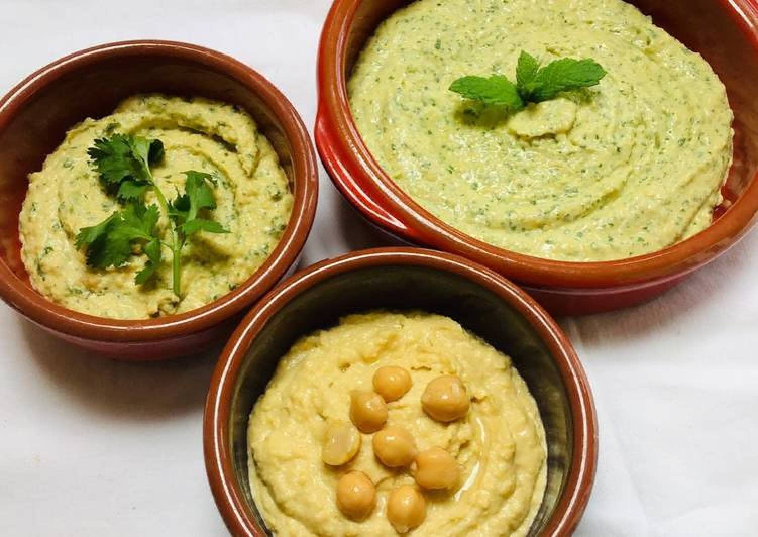 Herby Hummus