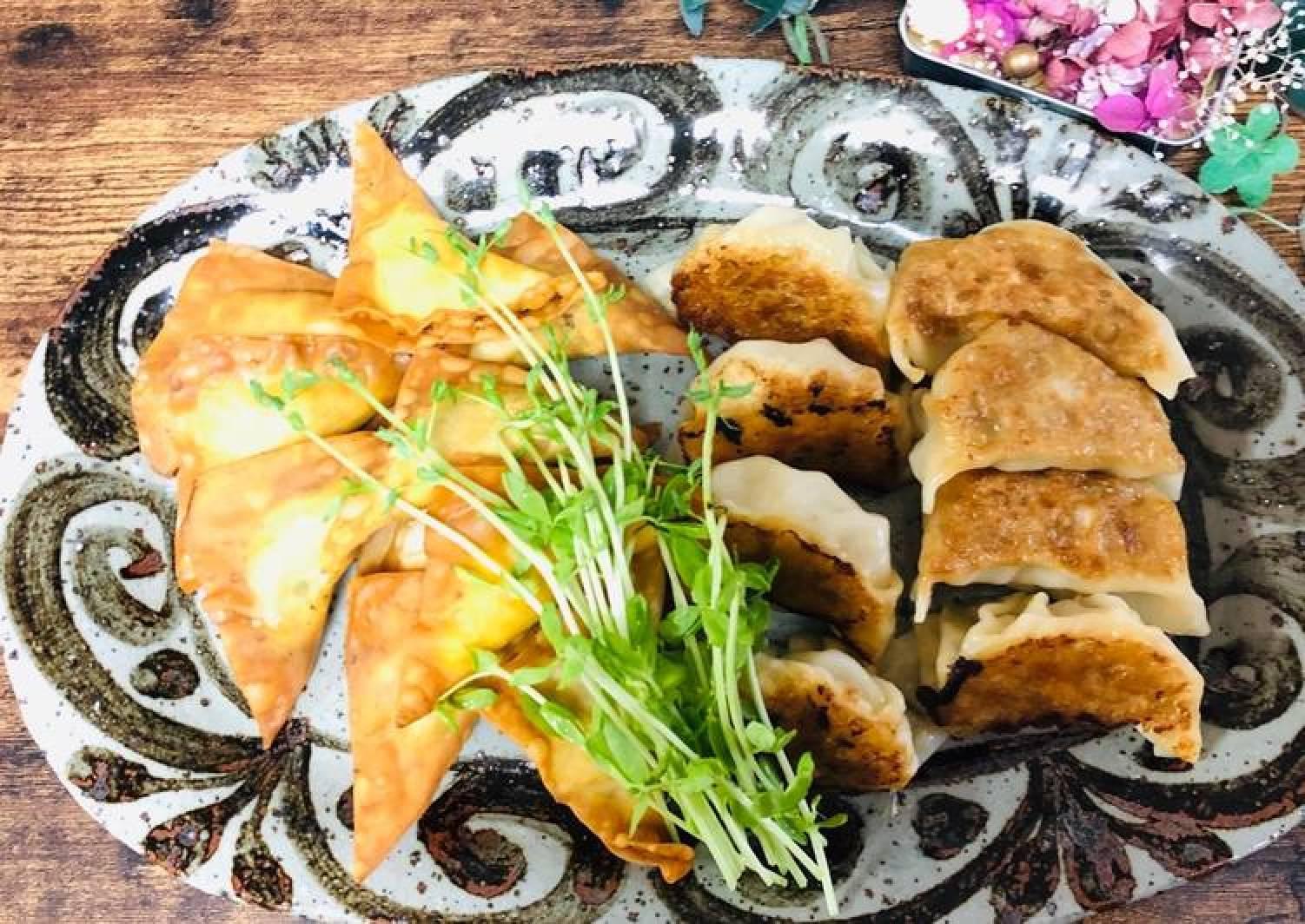Tofu Gyoza Dumplings