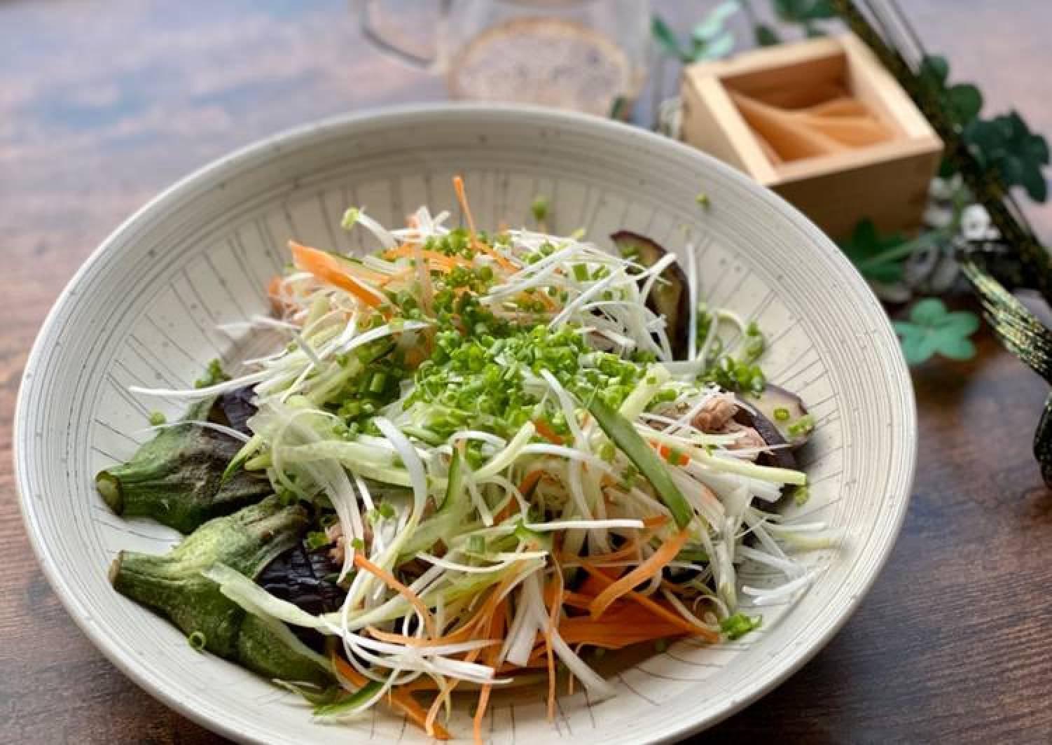 Eggplant And Tuna Salad