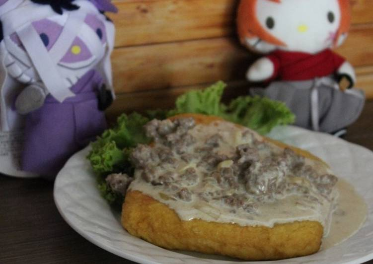 Tofu and Gravy