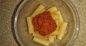 Tortiglioni with Red Tomato Pesto