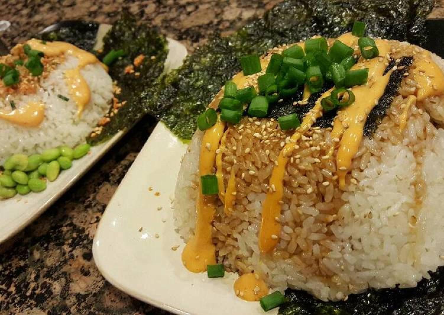 Stuffed Sushi Rice