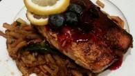 Permalink to Easiest Way to Cook Yummy Brad's blackened salmon with blueberry balsamic reduction