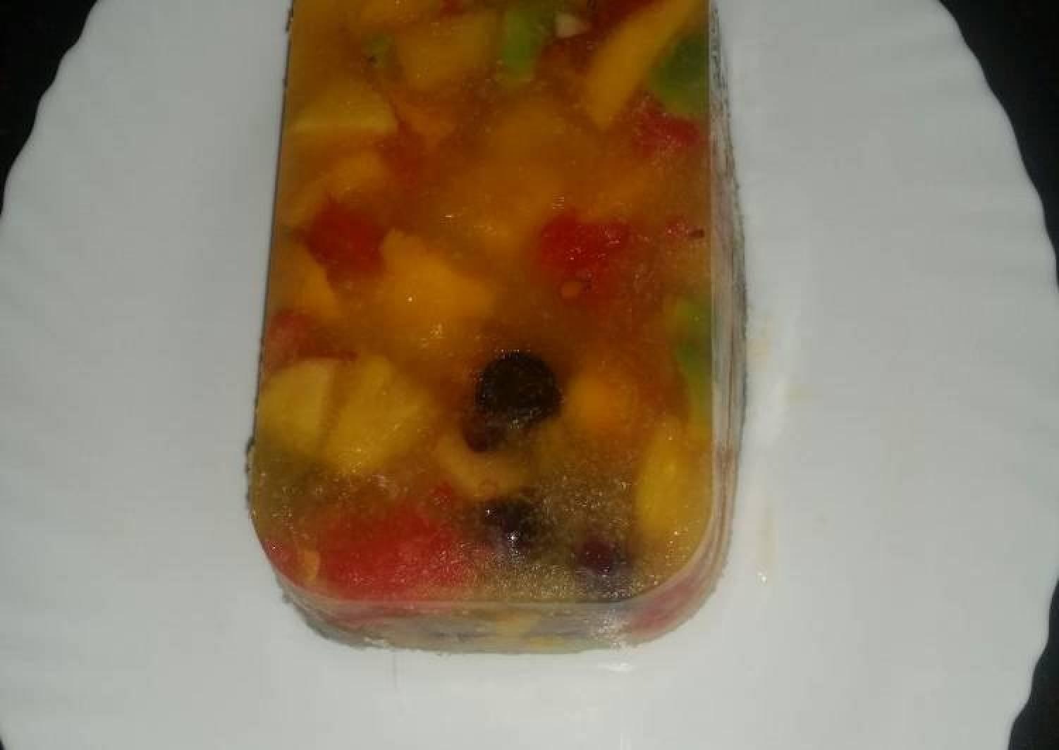 Water Melon Jello Fruit Salad #AuthorMarathon