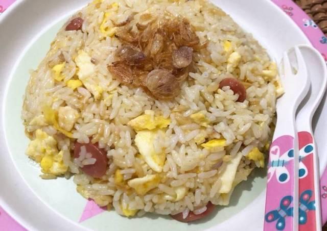 #8 Nasi Goreng Mentega untuk anak-anak 🍚