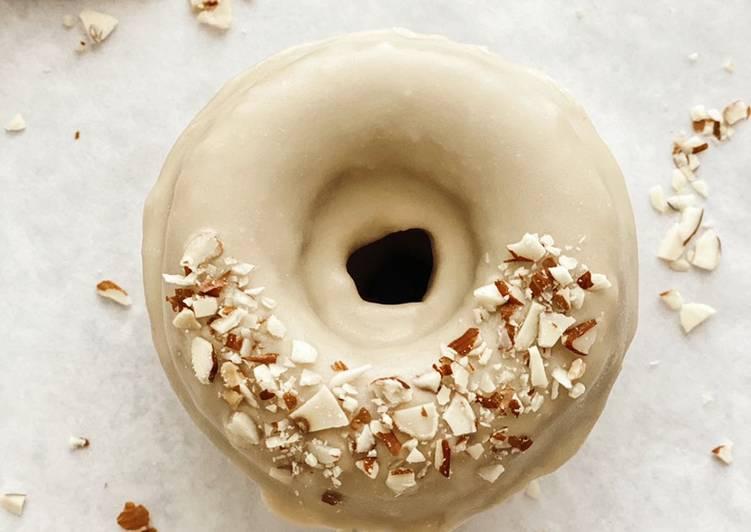 Mochi Donuts with Maple Glaze