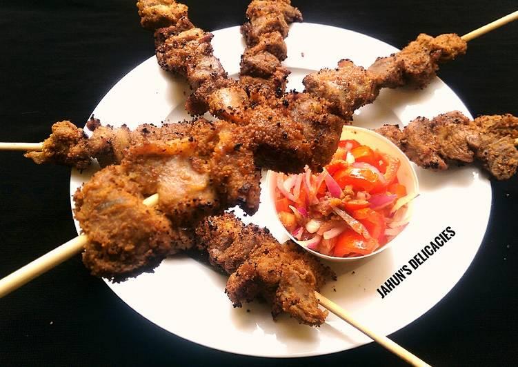 Beef Kebab(Tsire)