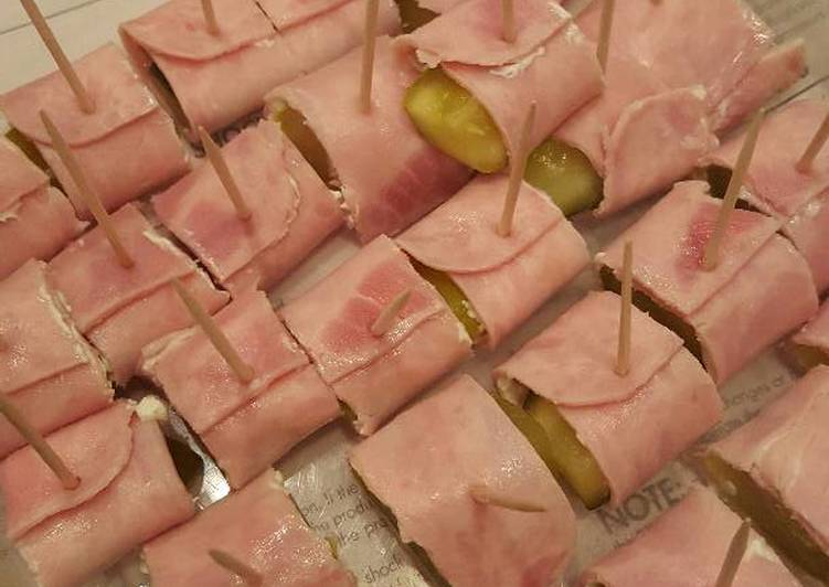 Pickle Ham Rollups