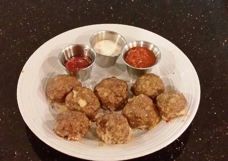 Meatloaf Style Meatballs