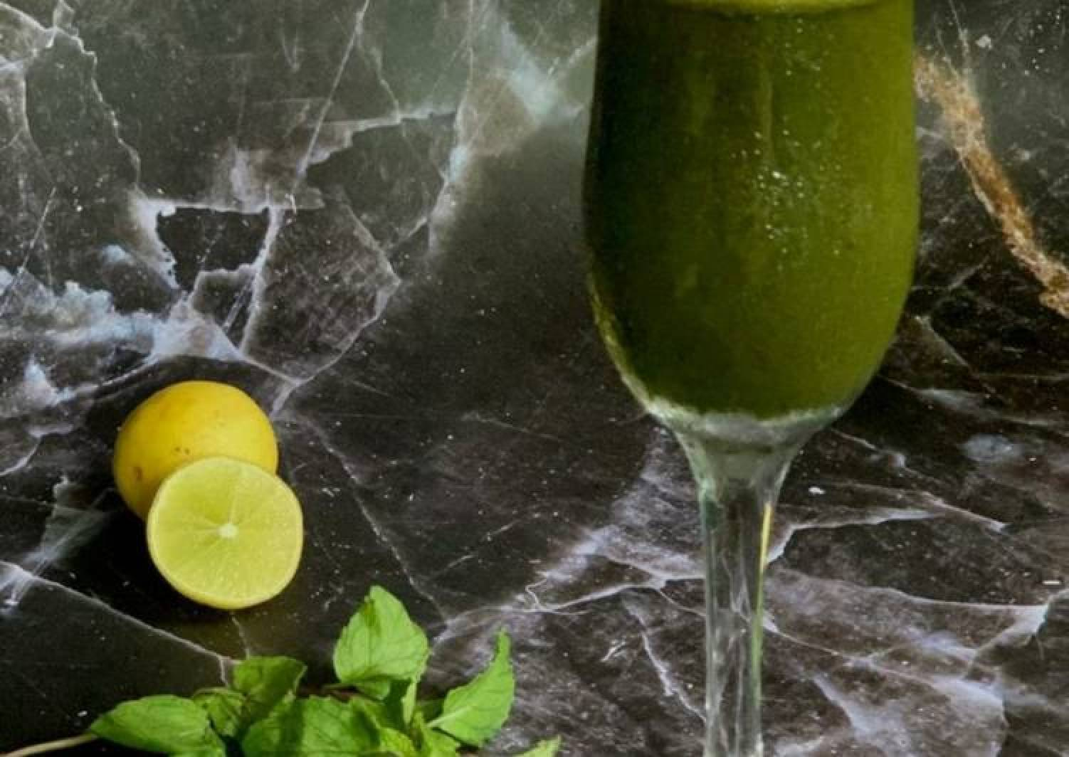 Mint and Lime juice