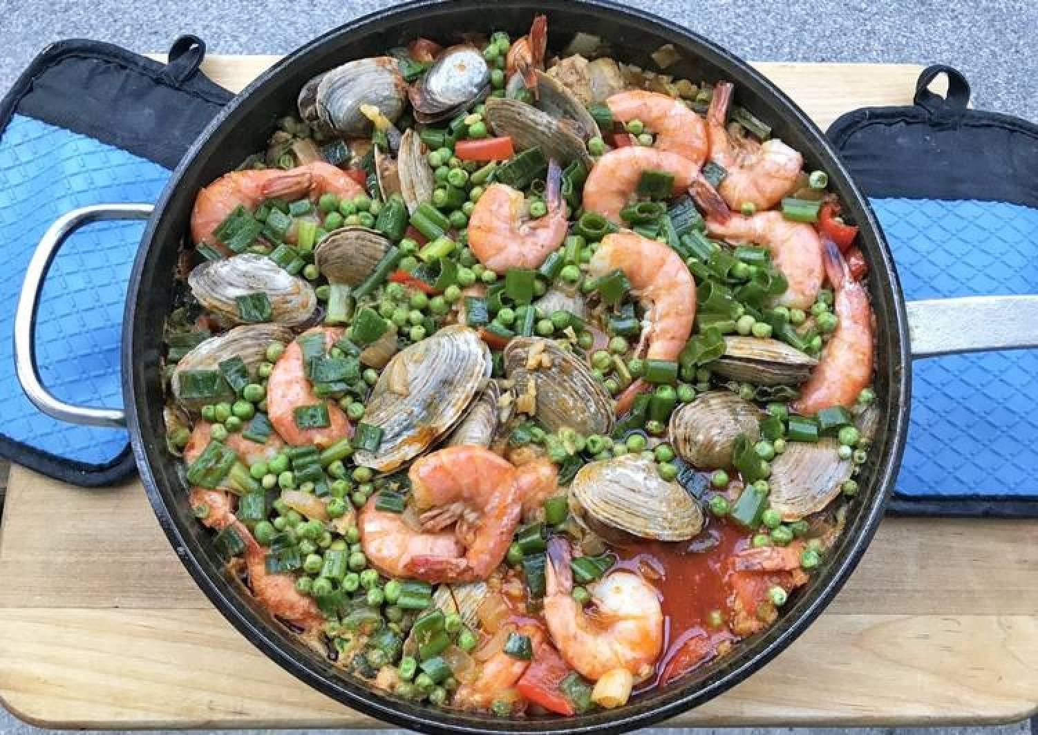 Spanish PaellaFUSF