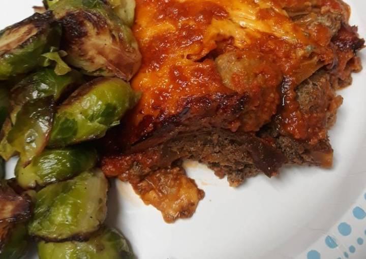 Eggplant and Meatball Lasagna