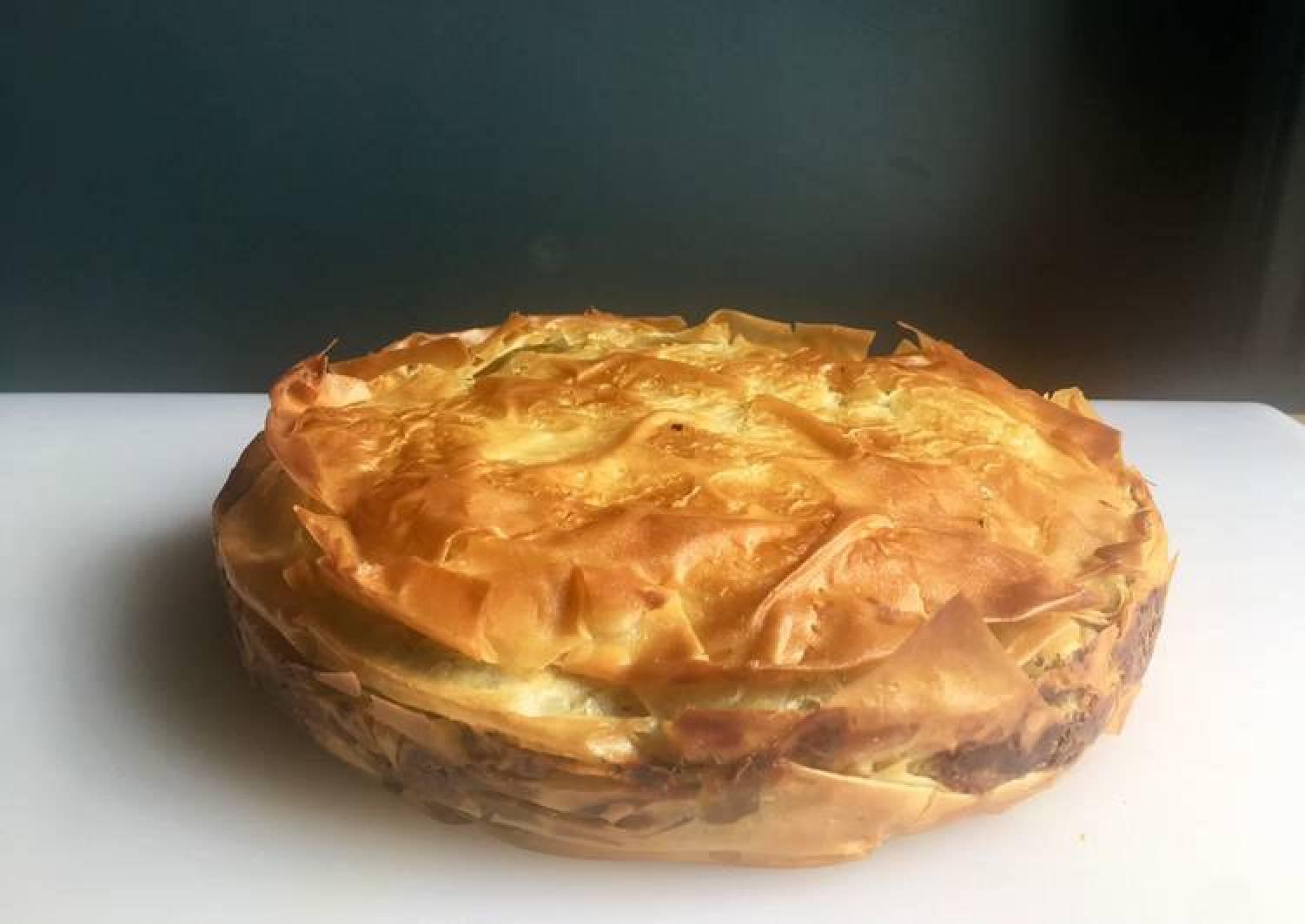 Spinach & Feta Filo Pie (Zelyanitsa)