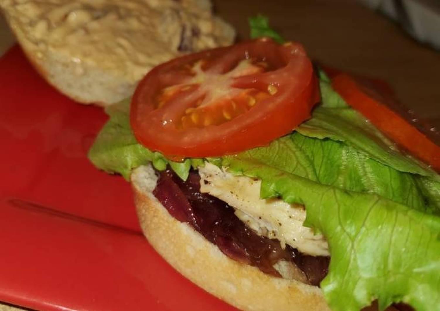 Jeramy and Corey's Chicken Sandwich