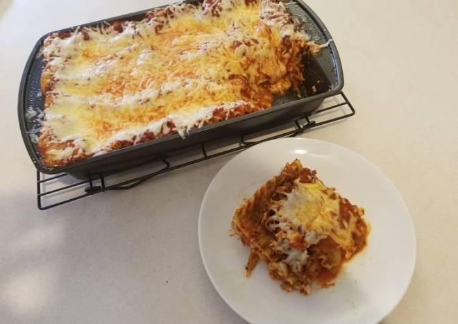 Easy Bake Lasagna