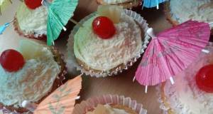 Vickys Pina Colada Cupcakes GF DF EF SF NF