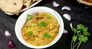 Shahi apple butter masala curry