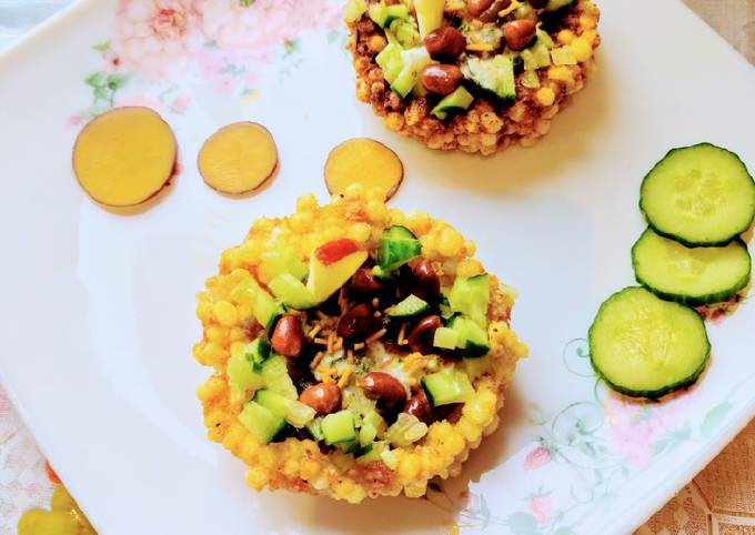 Simple Way to Make Tasteful Falahari Katori Chaat