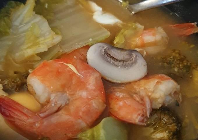 Der einfachste Weg Um Hausgemachte Einfache Tom Yum Suppe zu machen