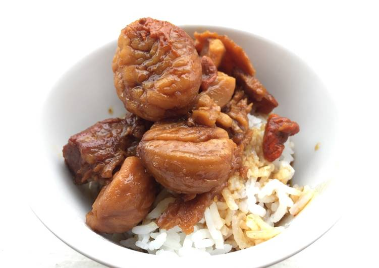 Soft Pork Rib With Chestnut In Dang Gui Sauce