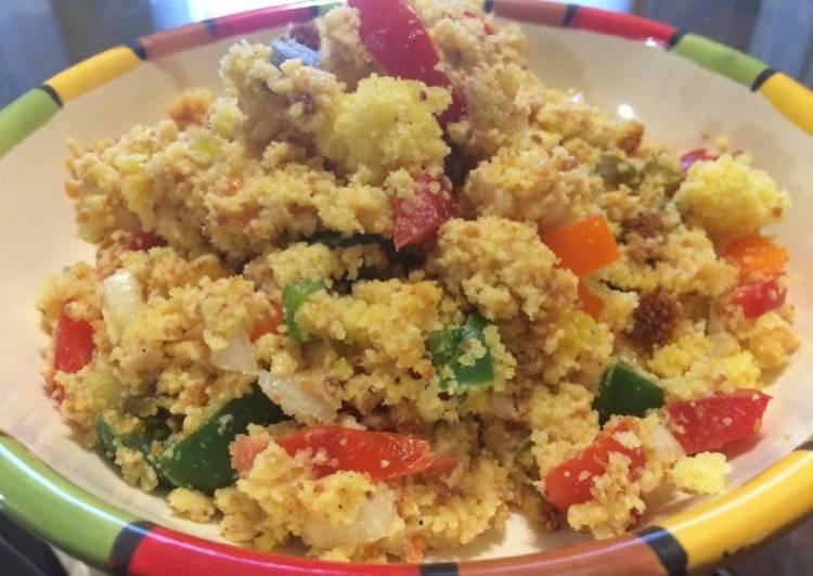 Confetti Cornbread Salad