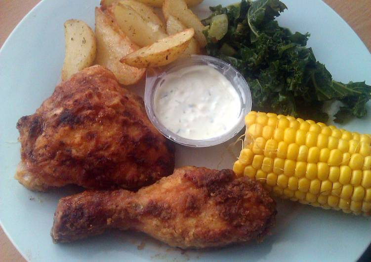 Vickys Oven-Fried Chicken GF DF EF SF NF