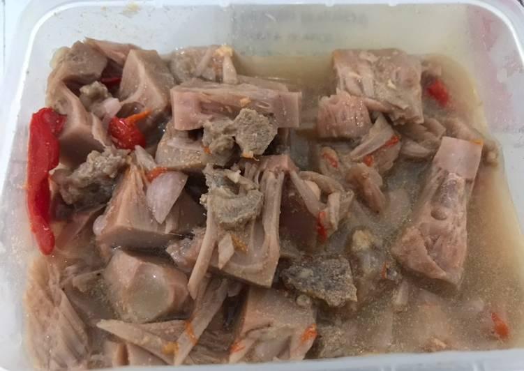 Sayur Lodeh Tewel (Nangka Muda) Fiber Creme