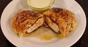 Stuffed Chicken Breasts with Cheese Poblano Peppers and Pastram