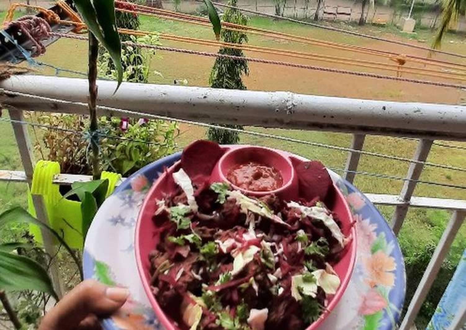 Beetroot cabbage Chinese pakoda innovative recipe