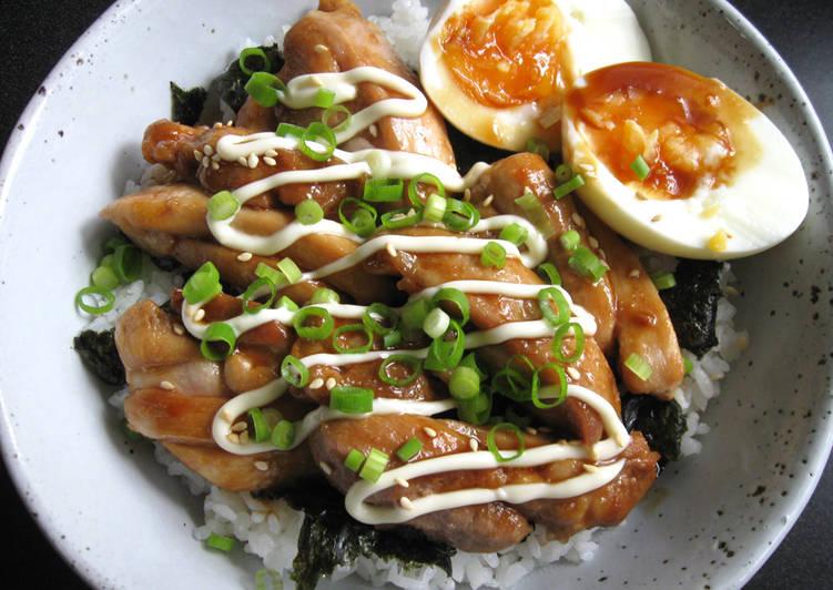 Teriyaki Mayo Chicken Rice Bowl
