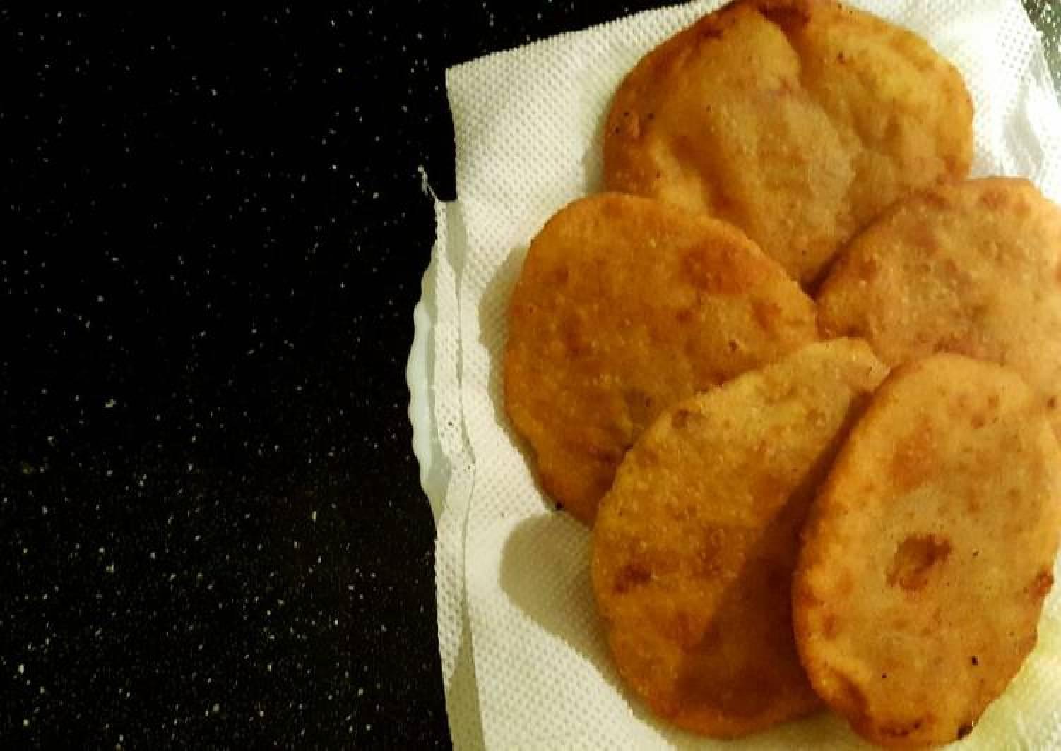 Potato stuffed Puff Pastry ☺