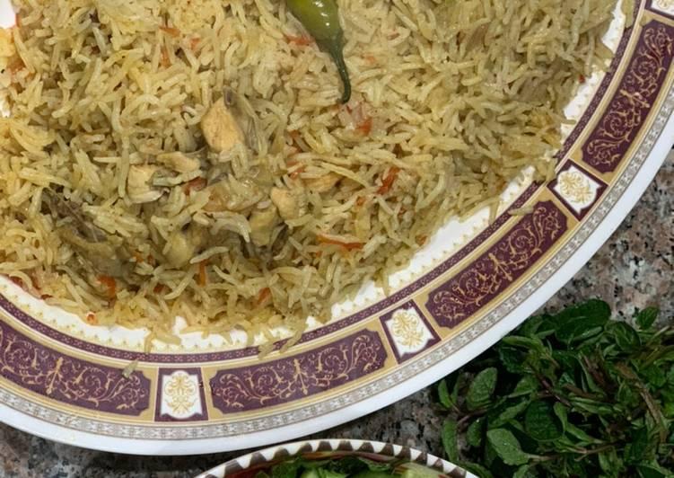 Afghani Chicken Pulao