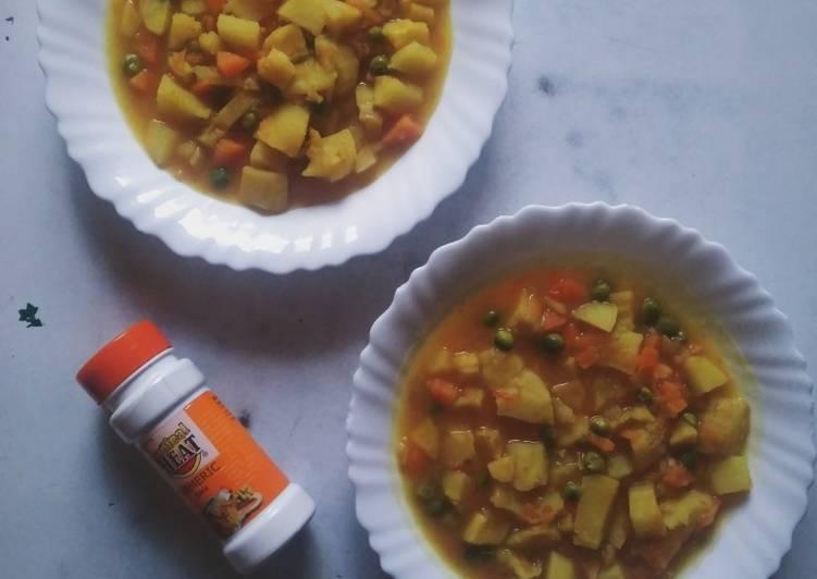 Recipe of Any night of the week Tumeric Matoke