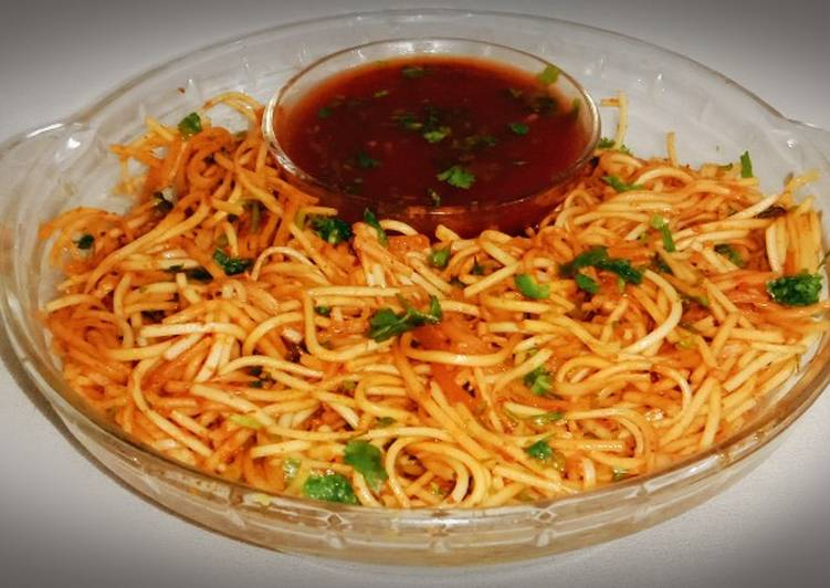Tangy tomato noodles