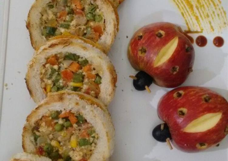 Easiest Way to Prepare Super Quick Homemade Veggie discs party appetizer#starter
