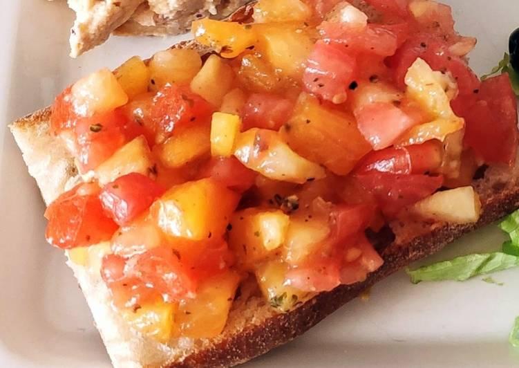 Bruschetta tomate/origan