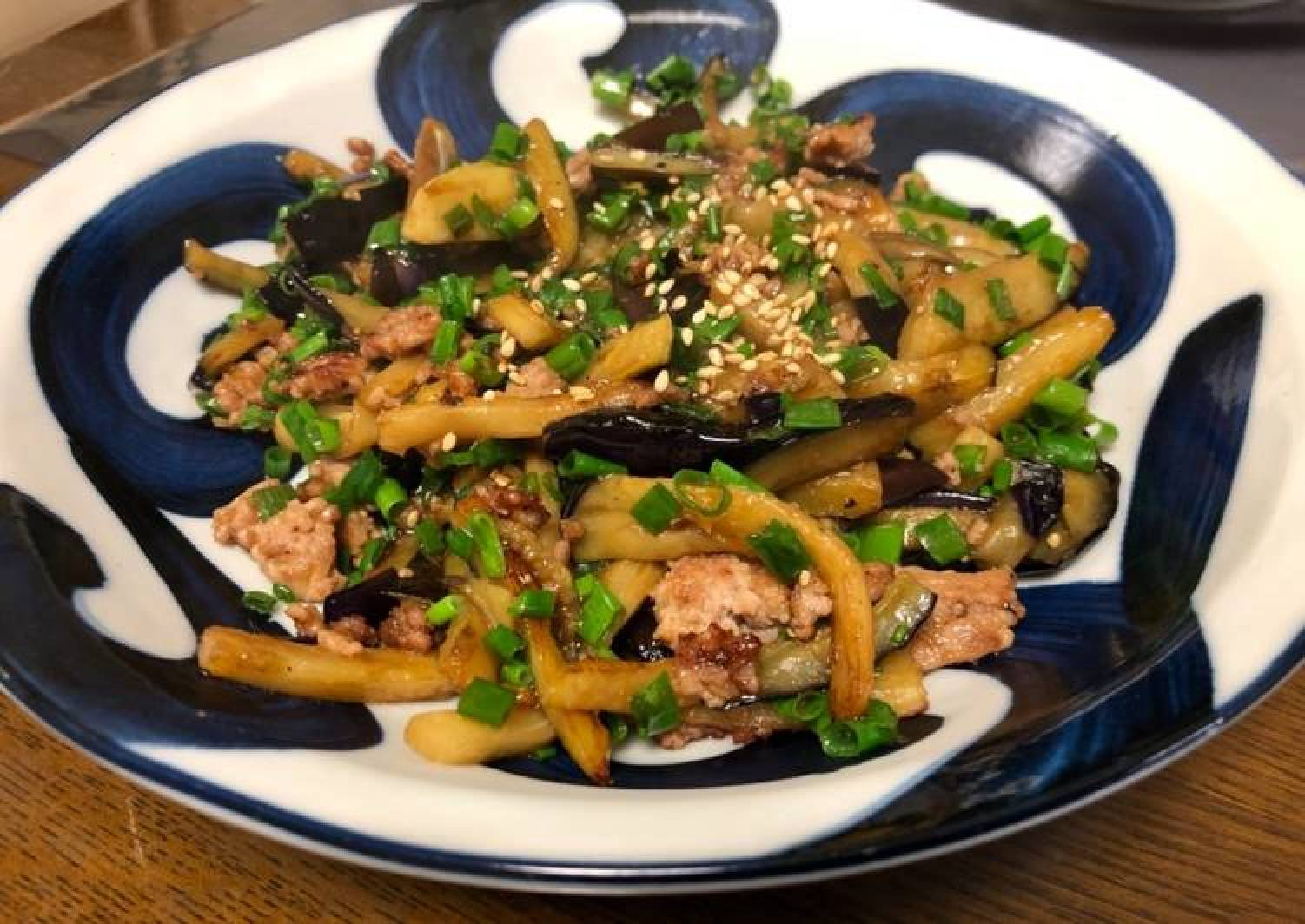 Eggplant Oyster sauce Fry