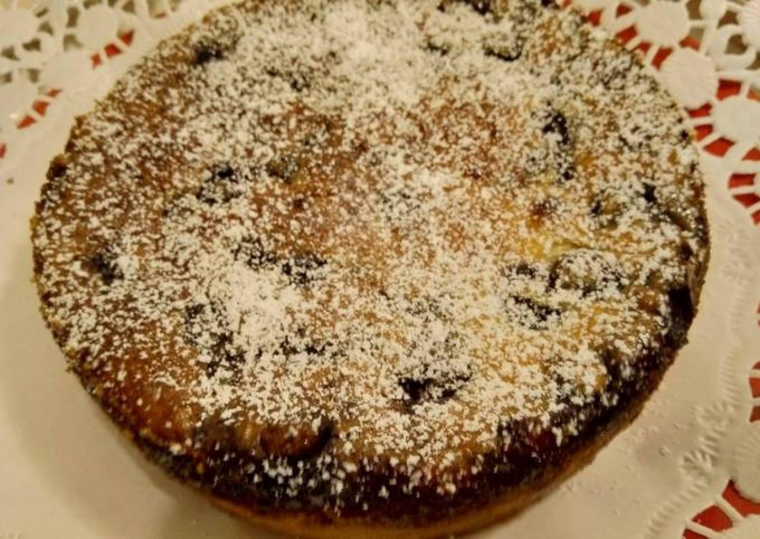 Kleiner Blaubeer-Ricotta-Kuchen