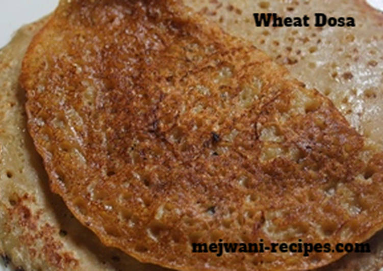How to Make Homemade Wheat Pancake