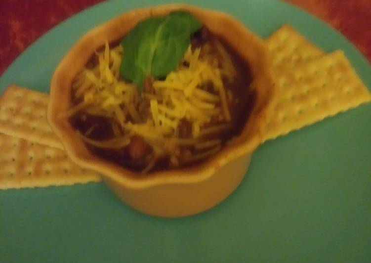 Easy Simple Slow-Cooker Chili