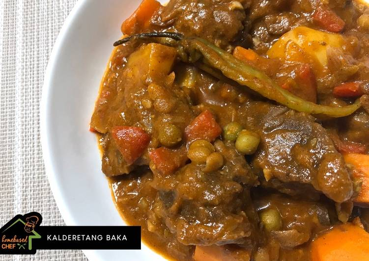 Easiest Way to Make Any night of the week Beef Caldereta