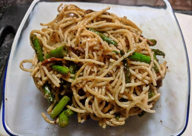 Left Over Noodles