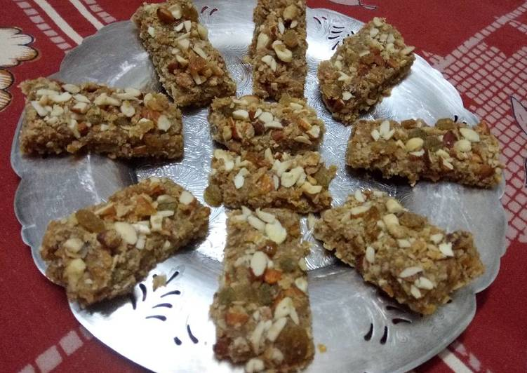 Dry fruits & oats Energy Bars